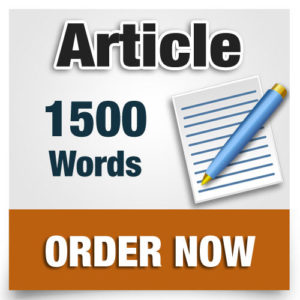 1500 word article