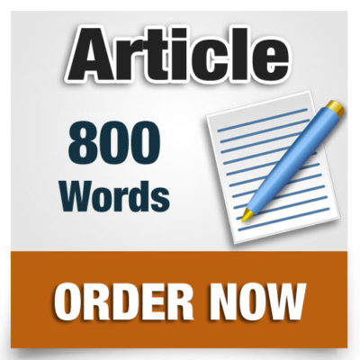 800 word article