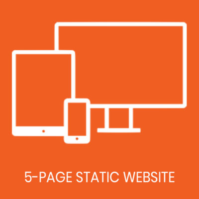 5 page static website
