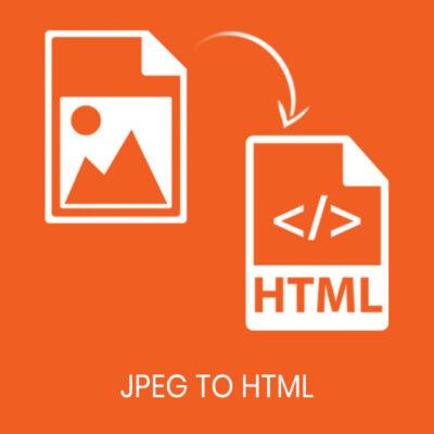 jpeg to html